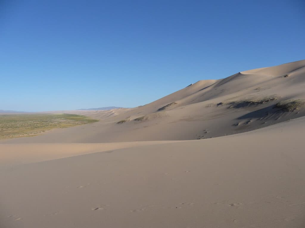 The Gobi Desert Mongolia