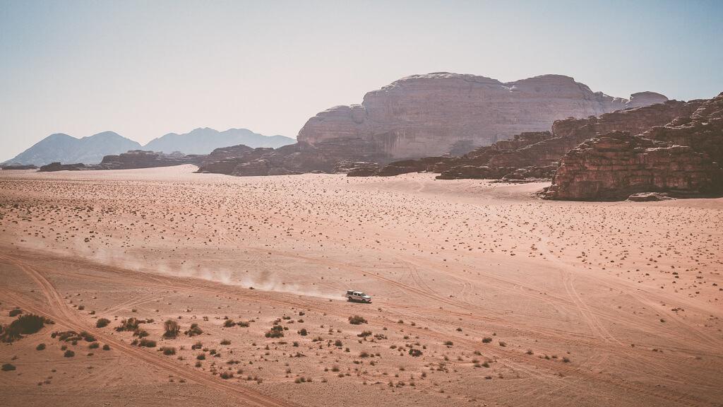 Camping in Jordan